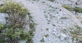 Rocky Terrain to Mediterranean Island Panorama Footage