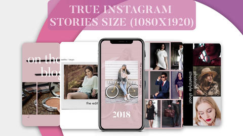 Instagram Stories pack After Effects Template