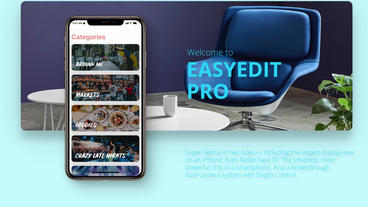 App Promo Phone Xs After Effects Template