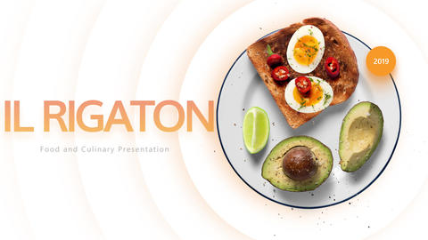 Food and Culinary Presentation After Effects Template