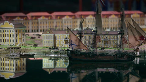 Ship Flying Dutchman stock footage