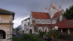 A Church,Galle,Sri Lanka Footage