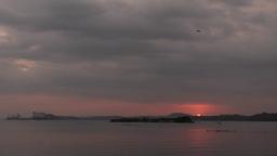 Sunset,Trincomalee,Sri Lanka Footage