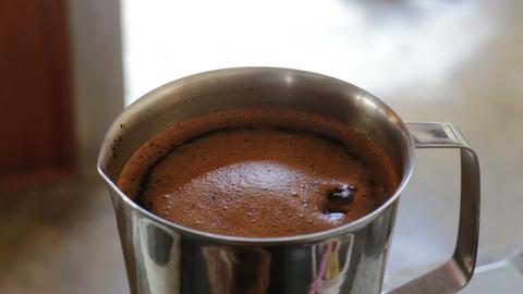 Boiling thai tea water base ingredient Footage