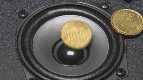 Speaker and coin Footage