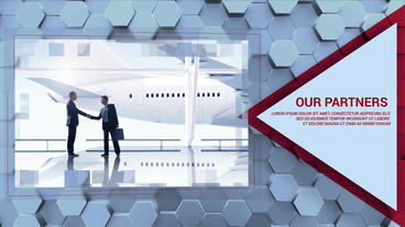 Hexagon Business Promo Plantilla de After Effects