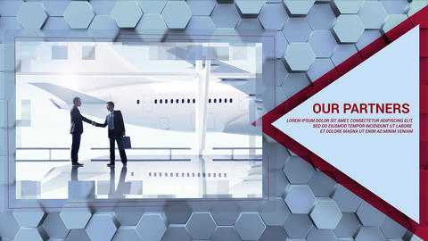 Hexagon Business Promo After Effects Template