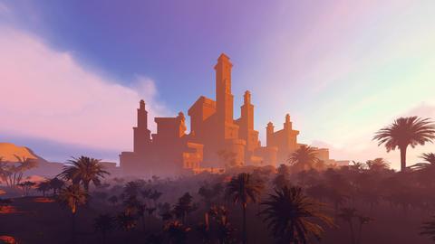 [alt video] City Mirage In The Desert