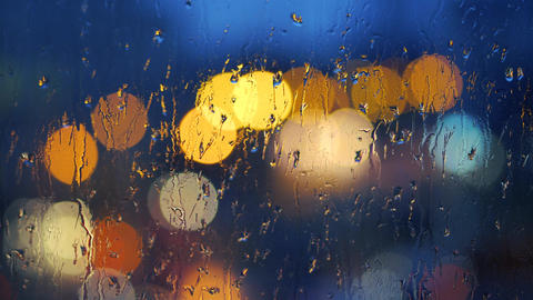 Raindrops on Window Live Action