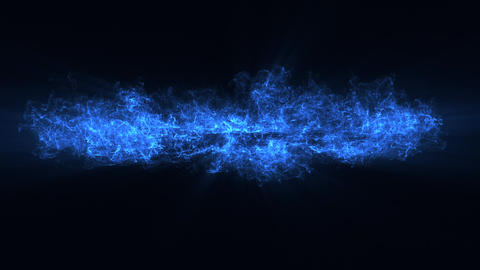 10 Blue Particles Shockwaves Overlay Graphic Elements Vol.3 Animación