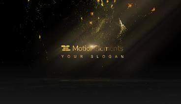 Golden Butterfly Logo After Effectsテンプレート