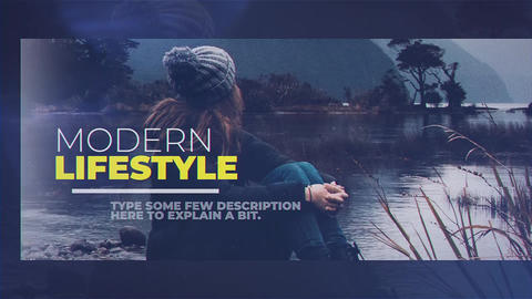 Modern Lifestyle After Effects Template