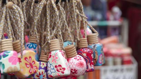 Cute Asian souvenirs Footage