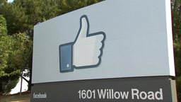FACEBOOK HEADQUARTERS BOARD ZOOM OUT Footage