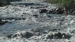 Wild Indus river ,Kargil,India Footage