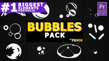 Bubble Elements Motion Graphics Template