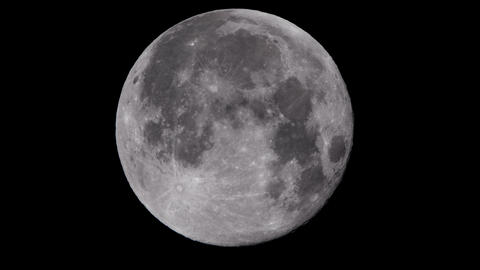 Full moon night - 1/2 of the screen ビデオ