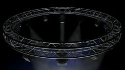 Circle Square Truss 400cm-Stage Lights 3D Model