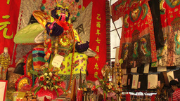 Chinese Temple,Penang,Malaysia Footage