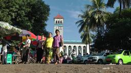 Yangon port authorithy and market,Yangon,Burma Footage