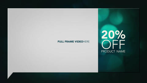 Price Explosion 30sec and 15sec TV Commercial After Effects Template