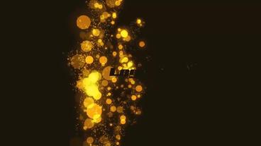 Particle Logo Reveal Premiere Proテンプレート