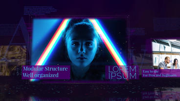 Technology Opener After Effects Template