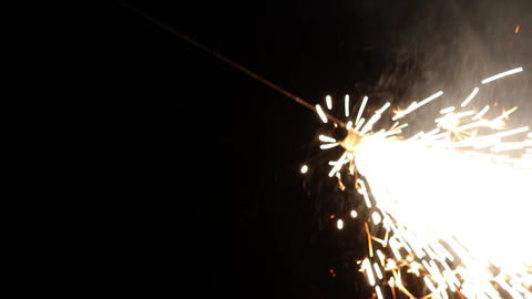Colorful fireworks on the dark night sky on a special occasion 04 Footage