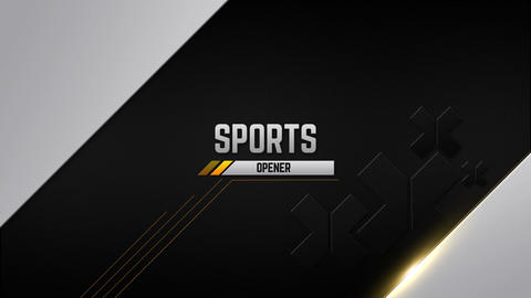 Sports Opener ME After Effects Template
