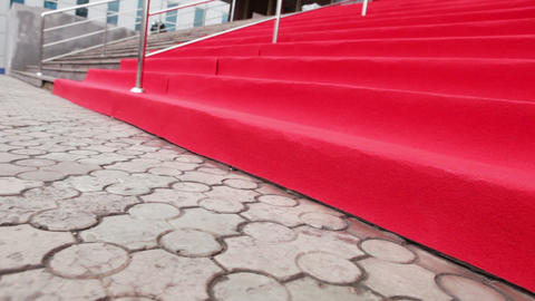 Red carpet for event Footage