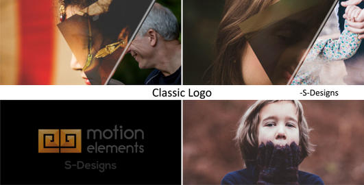 Classic Logo After Effects Template