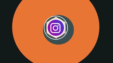 Light Minimal Social Media Logos モーショングラフィックステンプレート