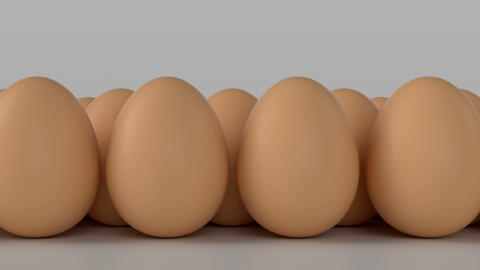 Egg. Symbolizes differences with each other Stock Video Footage