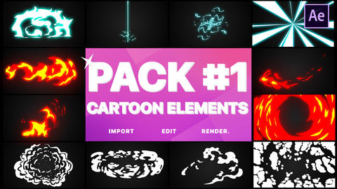 Elements Pack 01 After Effects Template