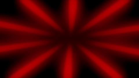 Red Sunburst Dark Rays Looped Background Animation