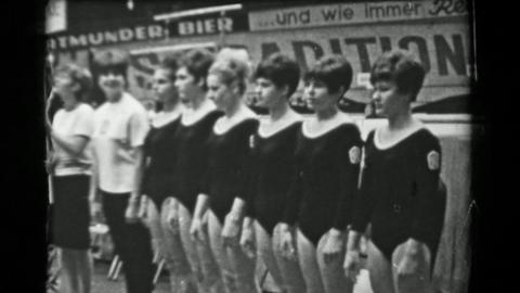 1966: Czechoslovakia Women's National Team 16th Artistic Gymnastics World Champi Footage