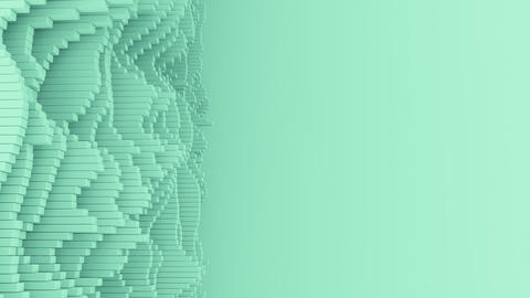 4K Abstract Waveforms With Copy Space Live Action