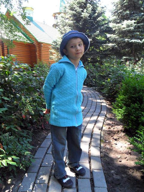 Little boy posing フォト