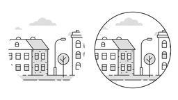 Urban landscape Animation