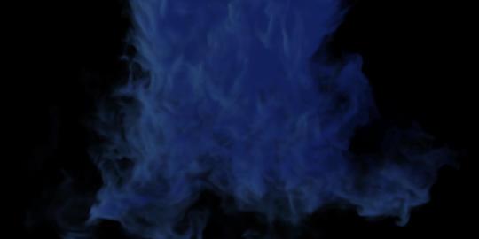 Smoke BLUE Animation