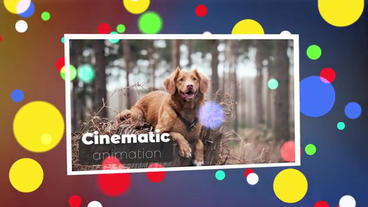 Cinematic Photo Intro After Effects Template