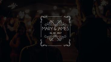 10 Wedding Titles Vintage V21 After Effects Template