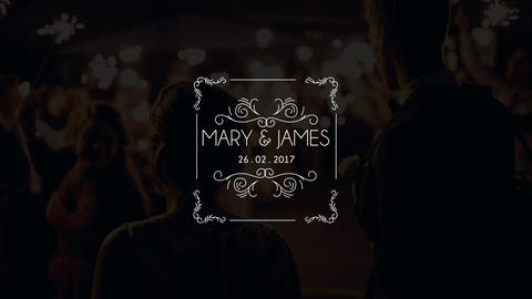 10 Wedding Titles Vintage V21 After Effects Template