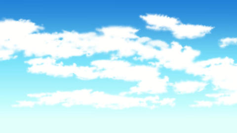 Sky cloud Animation