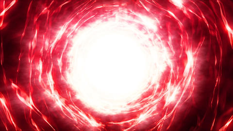 [alt video] Hyperspace energy portal red