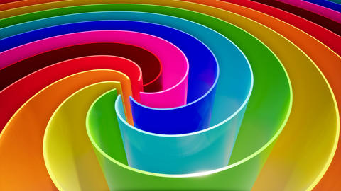 Color wave in abstract style on a colorful background. Curve abstract background Footage