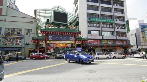 Petaling Street Market Footage