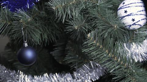 Christmas toy ball hung ビデオ