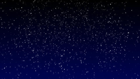 Loopable Snow Falling Animated Background Stock Video Footage