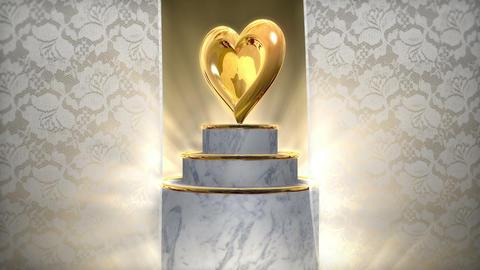 Wedding Title BG 001 Stock Video Footage